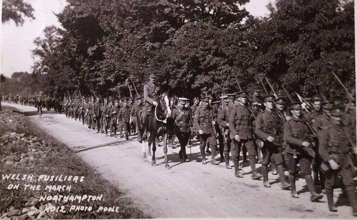 RWF on a March Northampton.