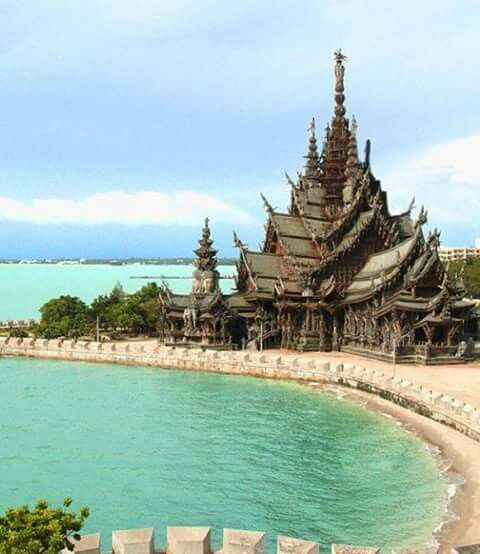 Sanctuary of truth - Pattaya