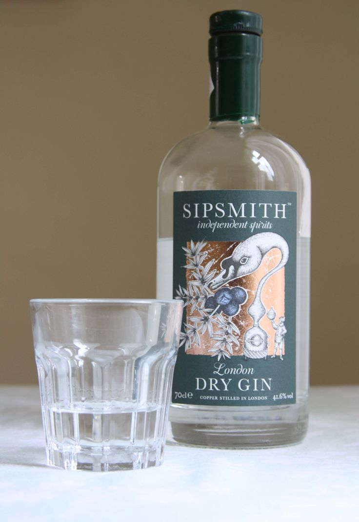 Gin tasting: Sipsmith London Dry Gin   Gin and Crumpets