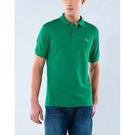 Men Polo Shirt, Short Sleeve, Dark Green Color