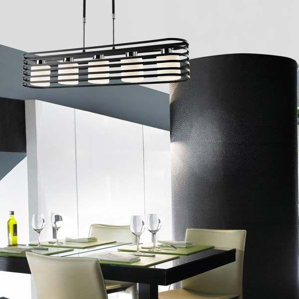 lmpara techo cell wengu lucesuna lmpara perfecta para iluminar cocinas o salones de estilo moderno lmpara con tulipas de cristal redondu