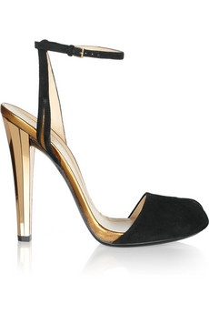 Yeah I just bought these little Gucci art-deco gems. I hope I can walk in them!