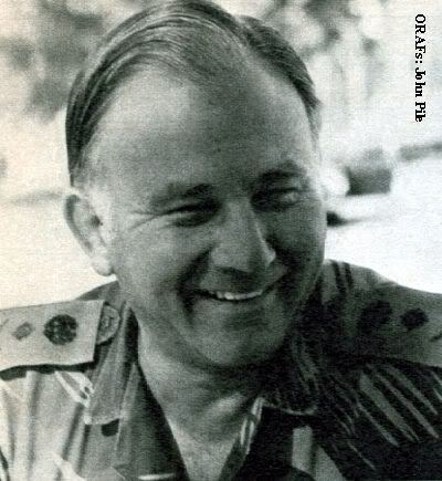 Lieutenant General George Peter Walls MBE GLM (1927– 20 July 2010) served as the Commander of the Combined Operations Headquarters of the Military of Rhodesia, and later Zimbabwe, from 1977 until his retirement on 29 July 1980 during the Rhodesian Bush War. In his latter years, he lived in exile in Eastern Cape, South Africa.