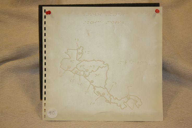 Image of Raised Line Map