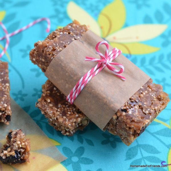 Quinoa Protein Power Bars - Cooking Quinoa