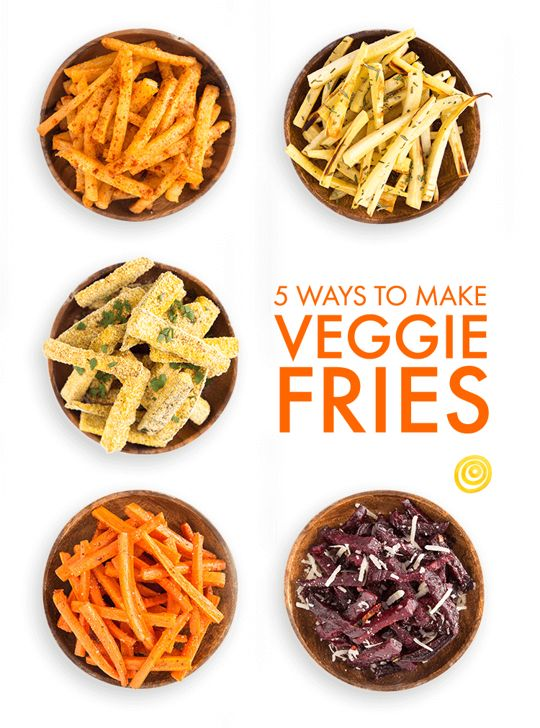 Oven-Baked Veggie Fries, 5 Ways — Recipe Templates from The Kitchn