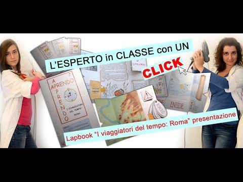 """APRENDO – APPRENDO: Lapbook """"I VIAGGIATORI DEL TEMPO: ROMA""""   Laboratorio Interattivo Manuale"""