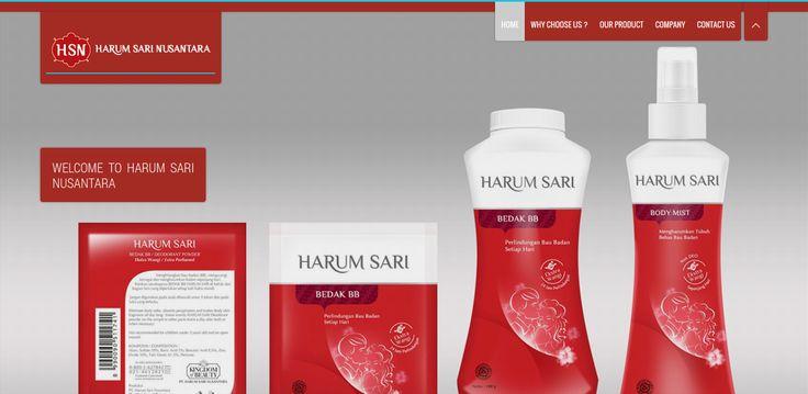 Website Demo 4. PT Harum Sari Nusantara - http://www.arf.me/demo/harumsariempat #Web_Design_Jakarta #Web_Design_Company #Jasa_Web_Design #Jasa_Pembuatan_Website_Profesional