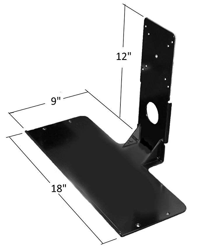 MAT22030 Gray Mead-Hatcher Adjustable Steel Keyboard Drawer