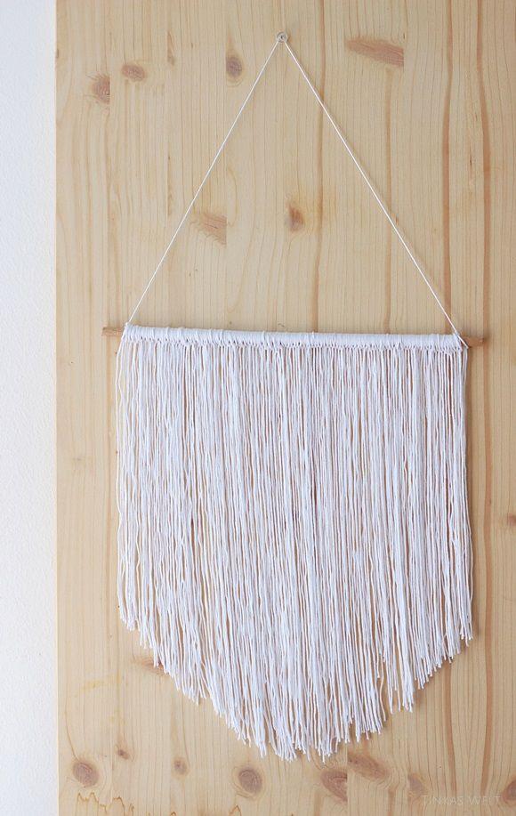 Ber ideen zu makramee wandschmuck auf pinterest - Makramee wandbehang ...