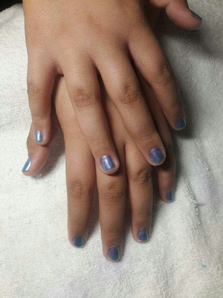 Lavender manicure Swank Hollywood #Nail Tech