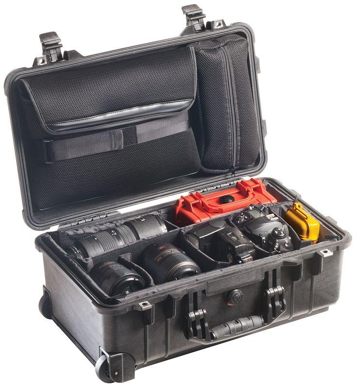 pelican peli products 1510SC camera lens photo travel hard case