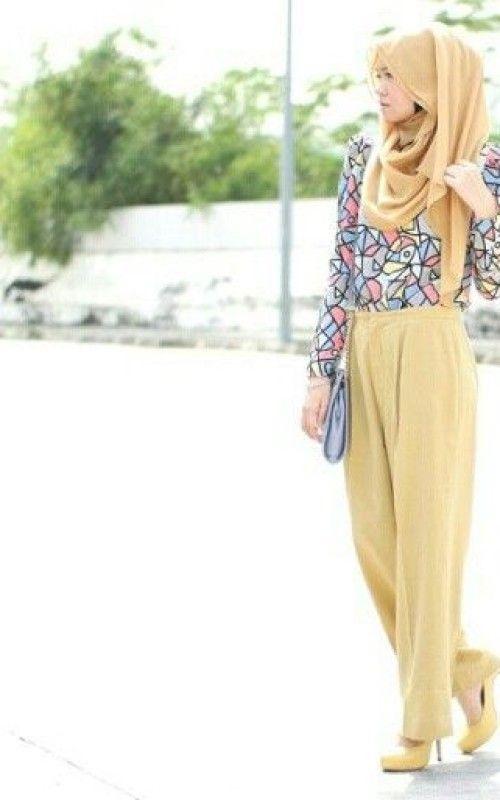 2014 Trend Hijab Fashion Inspirations  |2014 trend hijab| http://www.ferbena.com/2014-trend-hijab-fashion-inspirations.html