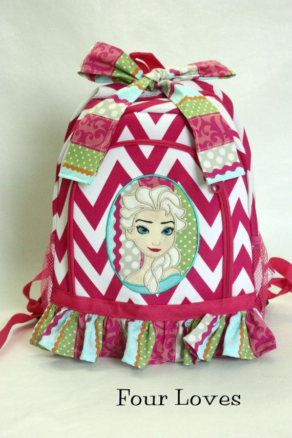 Coupon Code: PIN10 for 10% off  Elsa Backpack by FourLoves on Etsy