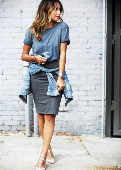 25  best ideas about Long pencil skirt on Pinterest | Long black ...