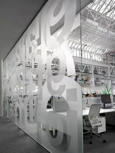 sticker on glass partition - Google 搜尋