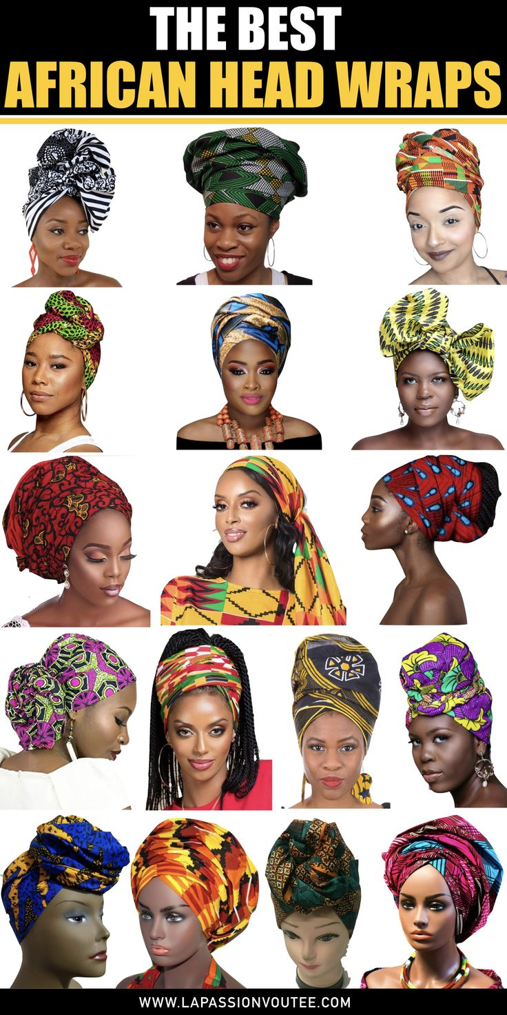 The very best African head wraps