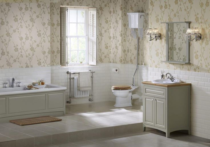 Downton Traditional bathroom furniture by Utopia