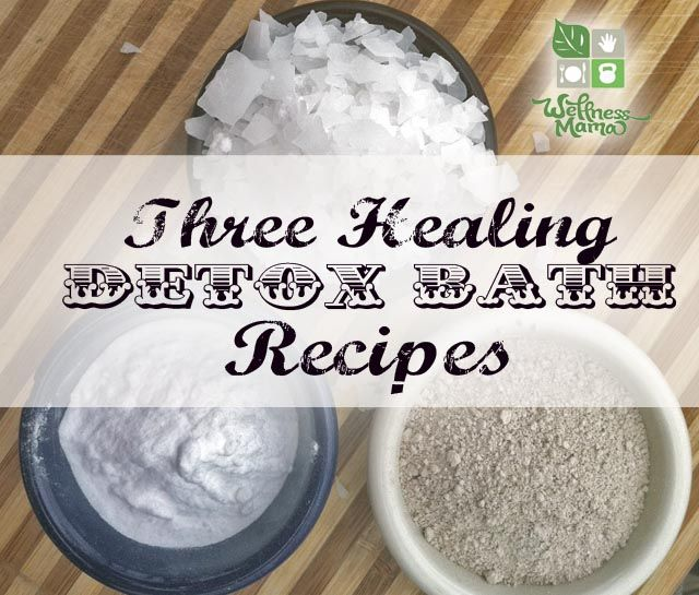 3 Natural Detox Bath Recipes.  Skip the bubbles and try one of these detox baths!  I do this at least every-other-week.  It is especially important if you are going through chemo or taking medications...help get some of that ick out of your body!