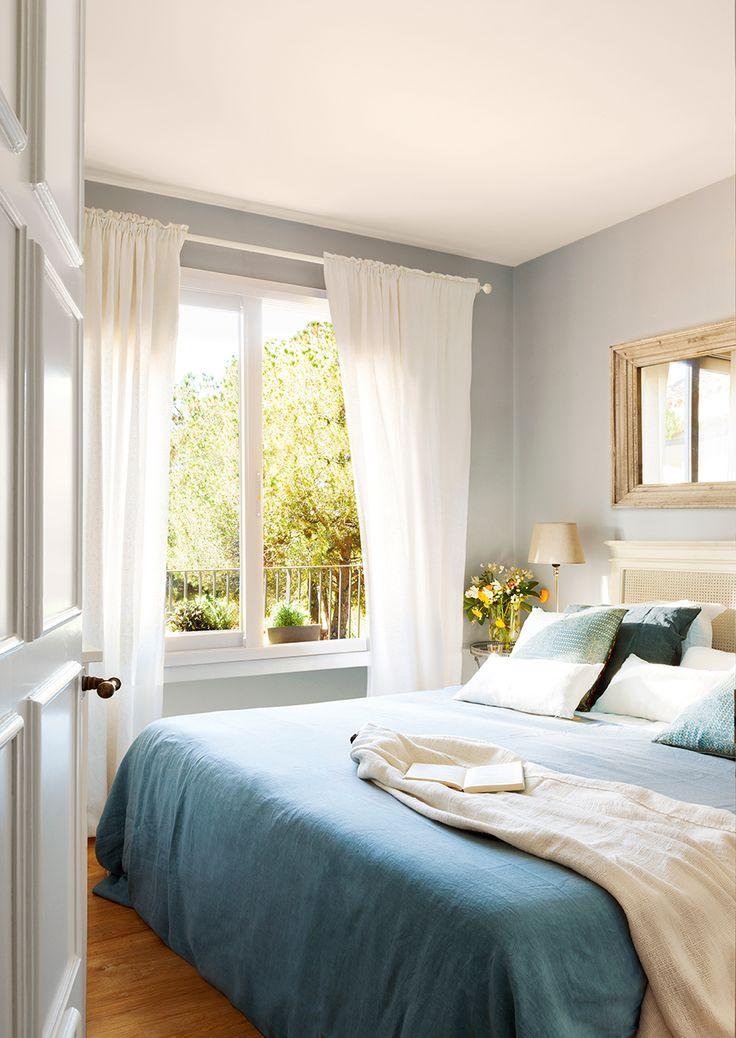 17 mejores ideas sobre ropa de cama de color azul en - Colores azules para paredes ...