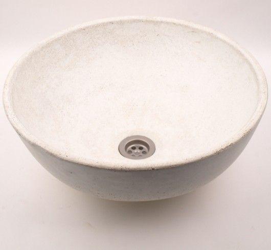 dodatki - łazienka-umywalka betonowa jasna UB6