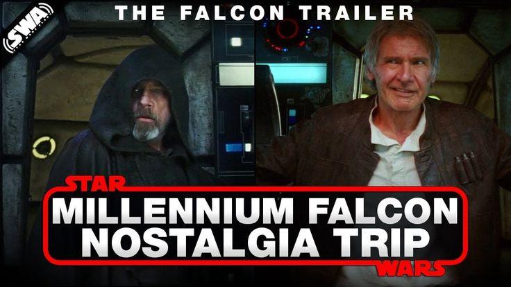Luke Skywalker and Han Solo on the Falcon - Nostalgia Trip