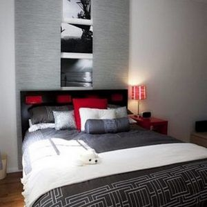 The 25+ Best Gray Red Bedroom Ideas On Pinterest | Grey Red Bedrooms, Red  Bedroom Themes And Red Color Schemes