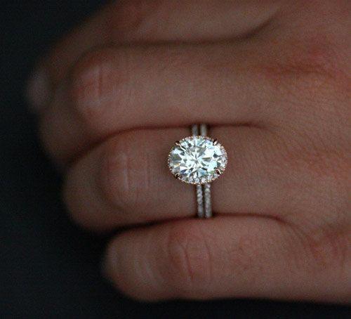 Forever Brilliant Moissanite Enement Rings | Oval Moissanite Diamond Engagement Ring Bridal By Twoperidotbirds