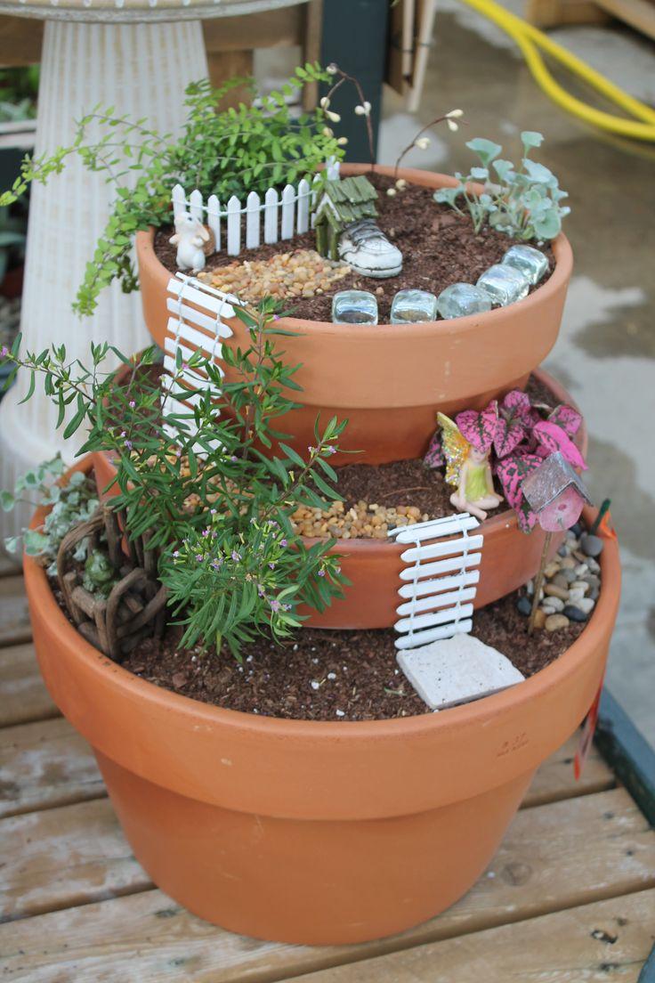 Best 25 broken pot garden ideas on pinterest fairy - Miniature plants for fairy gardens ...