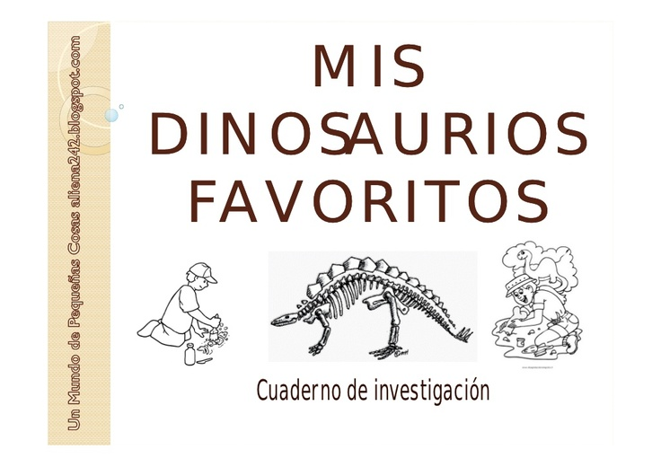 mis-dinosaurios-favoritos by aliena242 via Slideshare