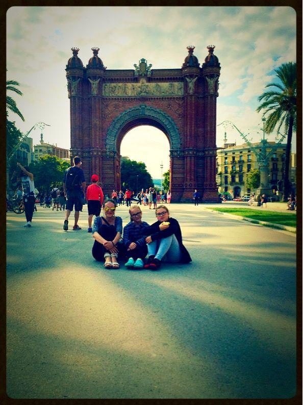 Arch of Triumph, Barca 2015