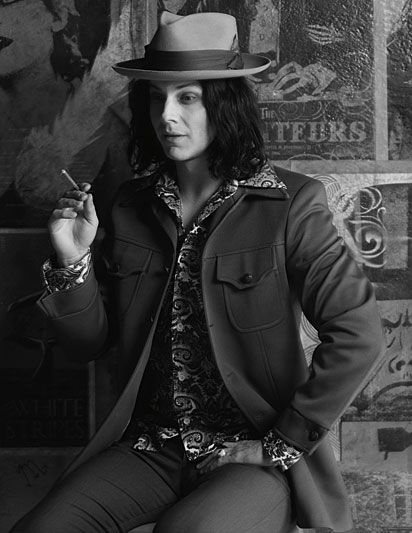 "Jack White is a brilliant artist. He is to compose the score for ""The Lone Ranger"" starring Johnny Depp in May 2013. I can't want!"