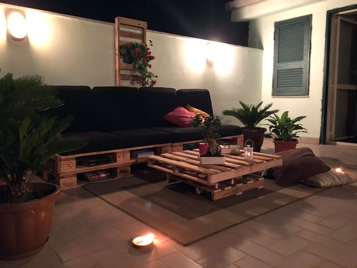 #delsan #arredi #pallets #outdoor #furniture