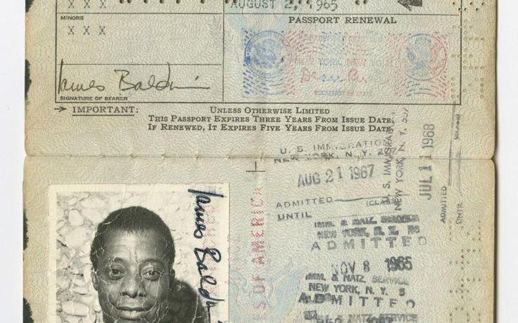 United States passport belonging to James Baldwin