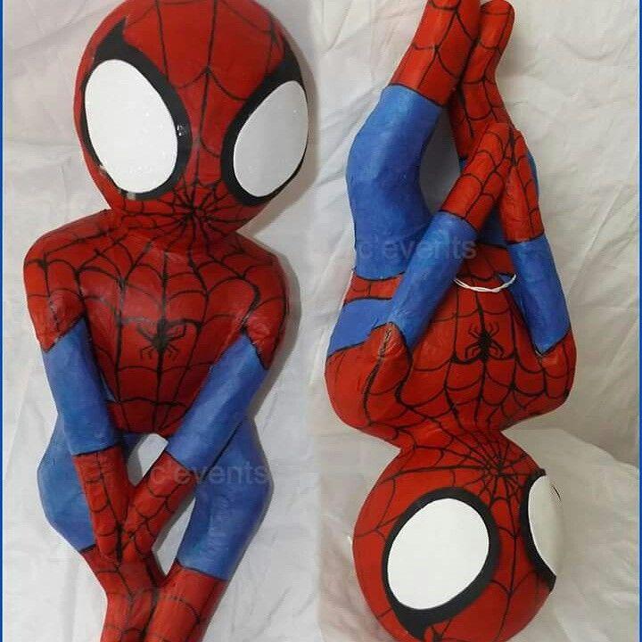 Piñata artesabal de Spiderman /Hombre araña