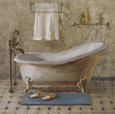 Victorian Bath Iii By Danhui Nai 400 215 397 Pixels Bathroom