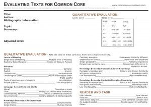 Exemplar Texts with Common Core: Teaching Language Art, English Language Arts