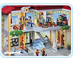 Playmobile Furnished School Building