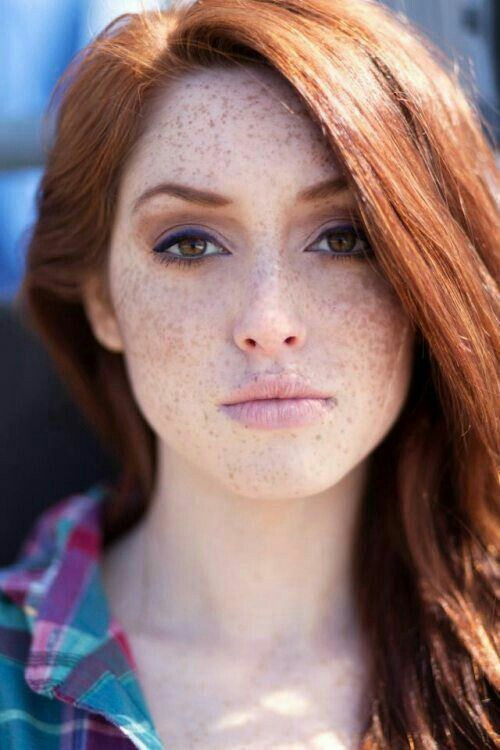 Freckles I Love Red Hair Green Eyes And Freckles