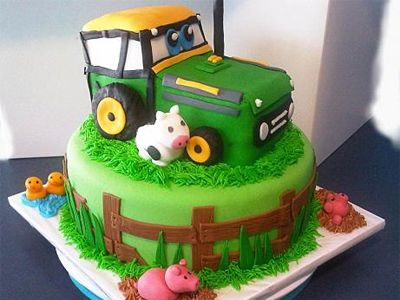 Tractor cake: 11 totally fun cake-decorating ideas