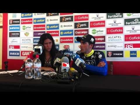 Alberto Contador ganador de la Vuelta a España 2012
