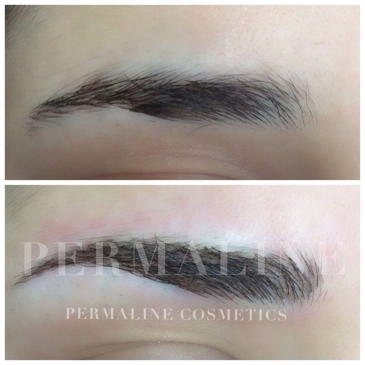 27 best images about permaline cosmetics before after for Cosmetic eyebrow tattoo