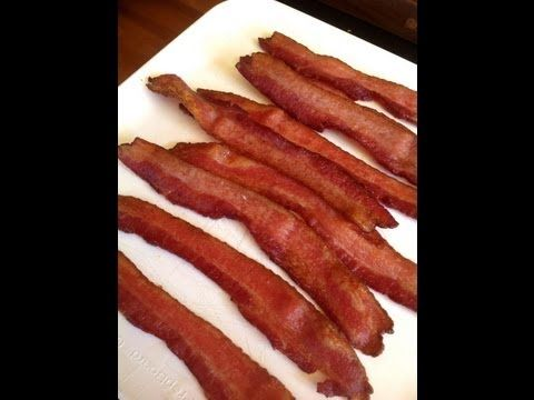 How to Make Crispy Bacon in the oven !