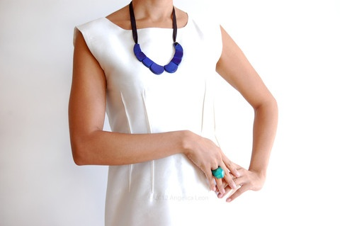 Marit Tagua Necklace