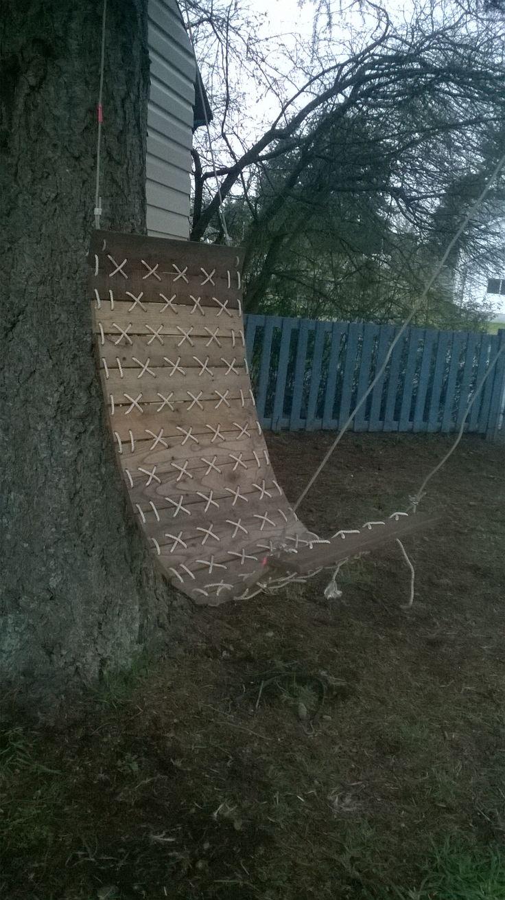 Pallet Hammock Chair