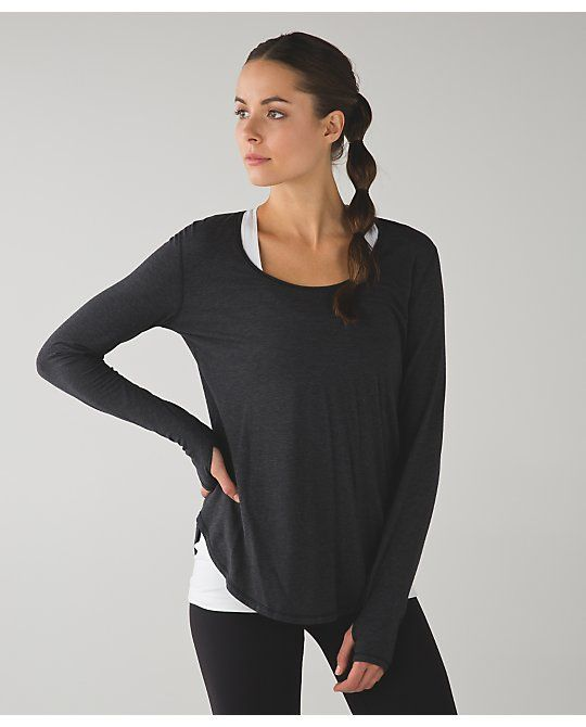 1000 images about lululemon long sleeved tops on Yoga shirts with sleeves
