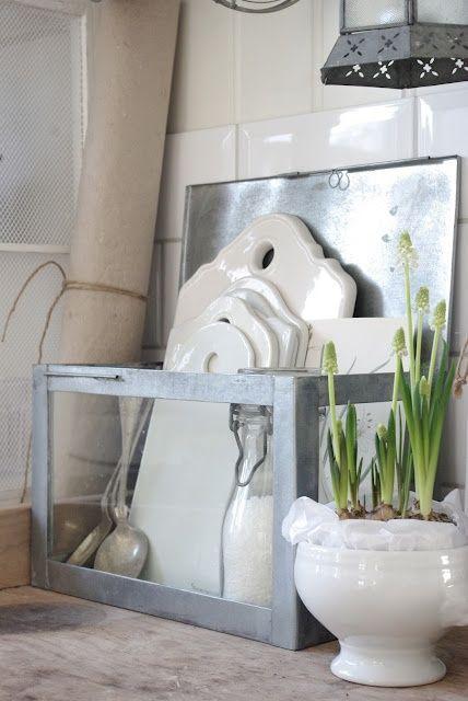 white ceramic platters