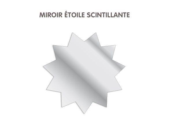 Joli miroir pour la chambre de votre enfant - livraison rapide- miroir incassable