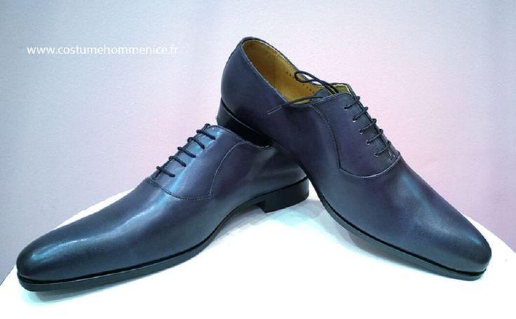 Chaussures d'hommes en cuir réalisables en 30 coloris-Caralys Nice, 06 | Caralys Nice-Mariage et cérémonie-Costume homme et garçon