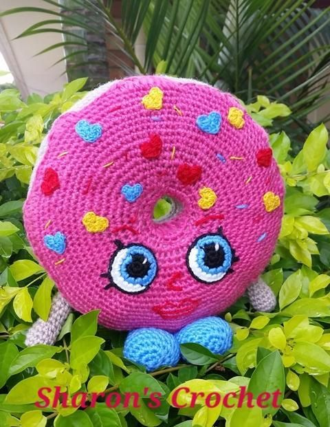Looking for your next project? You're going to love Miss D'Lish - Shopkins Plushie Pattern by designer Sharons Crochet.